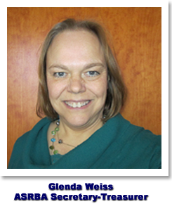 Glenda Weiss - ASRBA Secretary-Treasurer