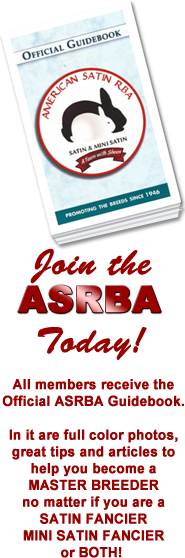 Join the ASRBA Today anf get the Official Guidebook!