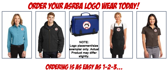 Order Your ASRBA Logowear Today!
